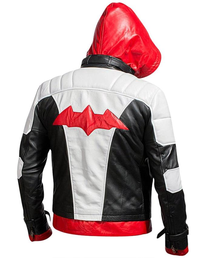 Batman Red Hood Leather Jacket