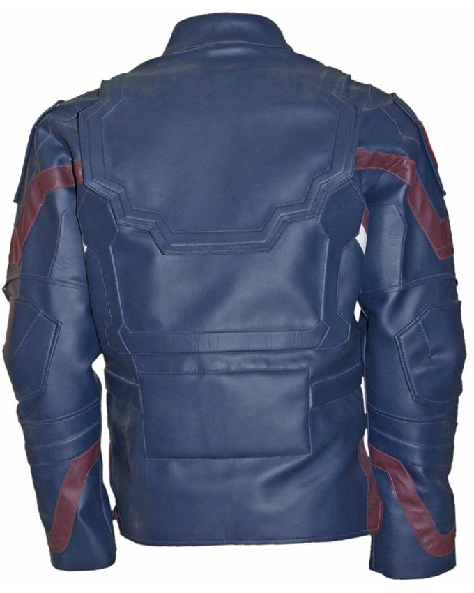 Civil War Chris Evans Jacket