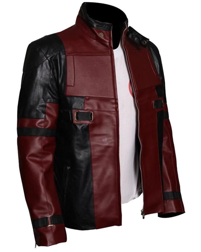 Ryal Reynolds Deadpool Leather Jacket