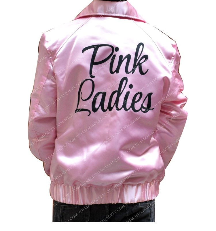 Olivia Newton John Pink Ladies Grease Sandy Satin Jacket William