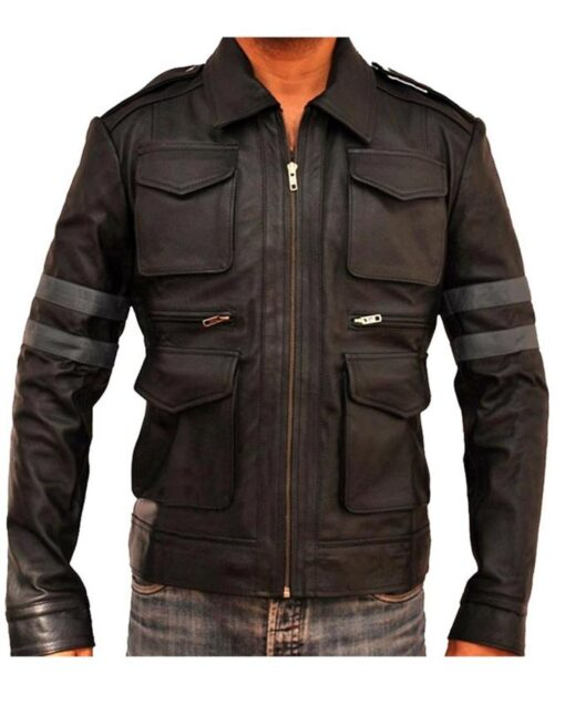 Resident Evil 5 Leon Kennedy Leather Jacket