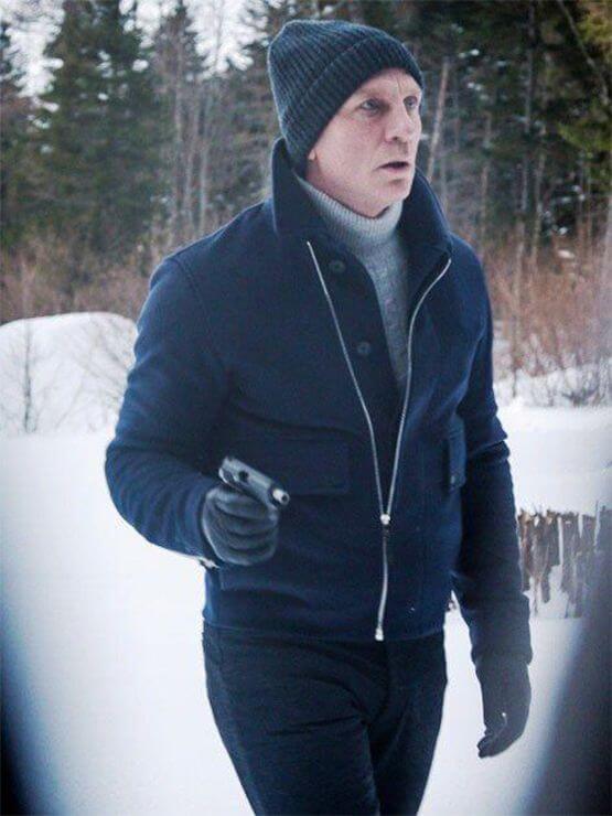 Spectre James Bond Lake Blue Jacket