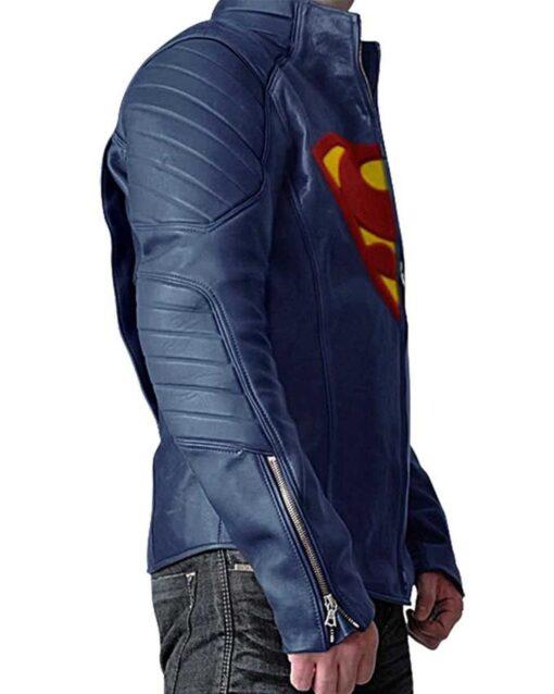 Superman Clark Kent Leather Jacket