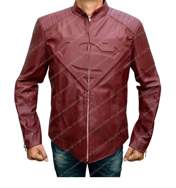 Smallville Superman Maroon Jacket