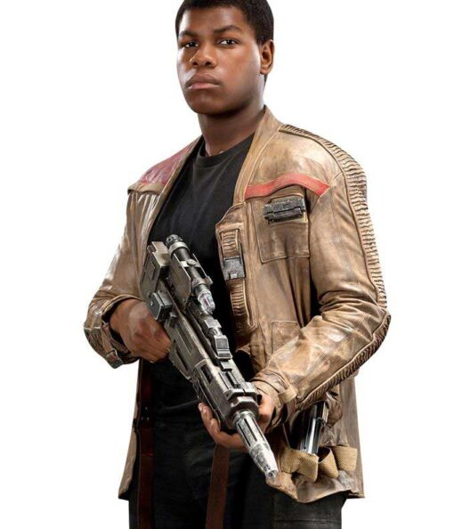 Finn Leather Jacket - The Star Wars Movie