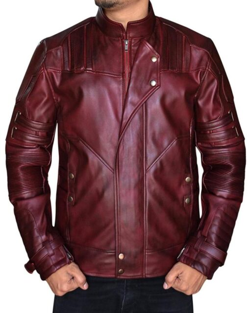 Star Lord Vol 2 Leather Jacket