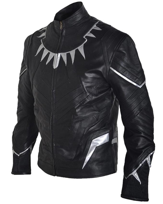 Black Panther Leather Jacket | WilliamJacket