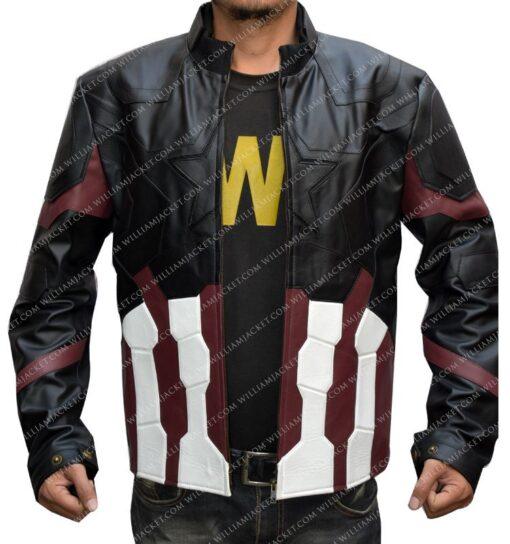 Steve Rogers Chris Evans Captain America Jacket
