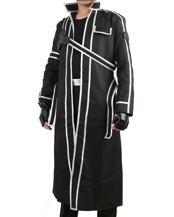 Kirito Sword Art Online Trench Coat