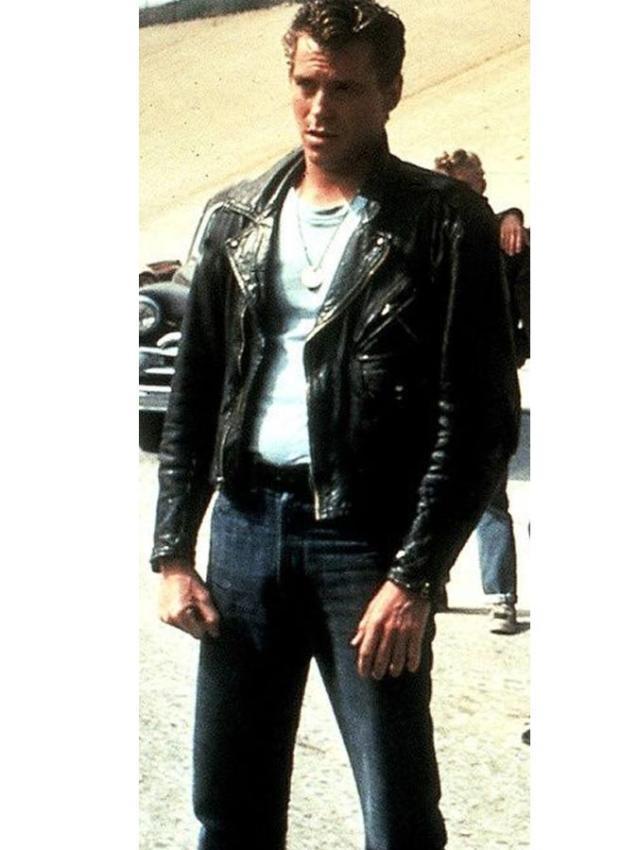 Danny John Travolta Grease T-Birds Jacket