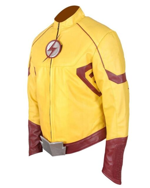 Wally West Kid Flash Leather Jacket