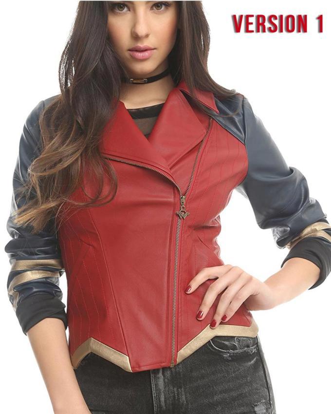 Wonder Woman Version 1 Leather Jacket