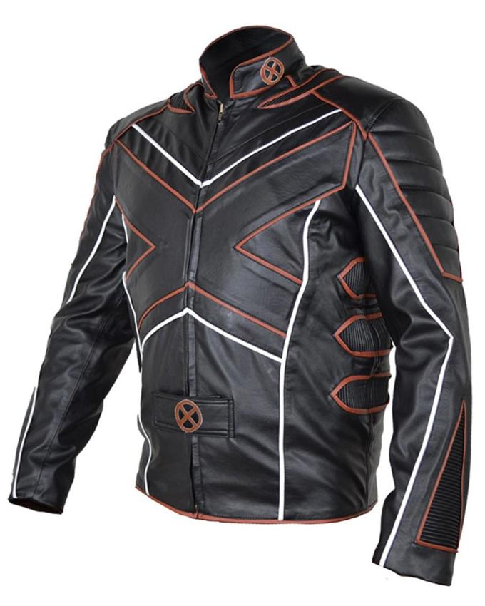 X-Men Logan Motorcycle Hugh Jackman Leather Jacket