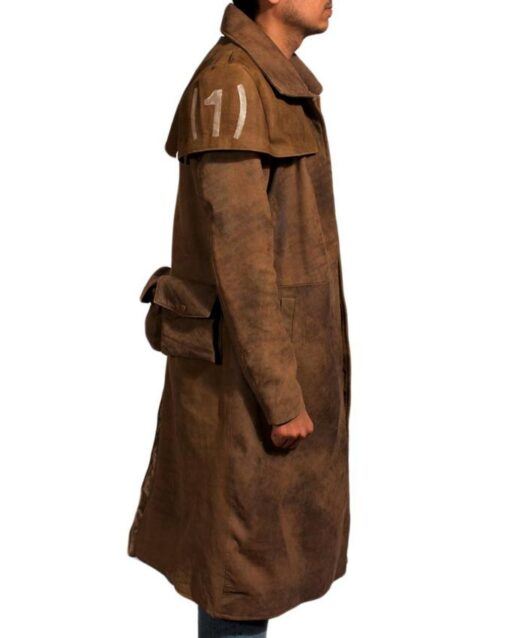 Fallout A7 Leather Trench Coat