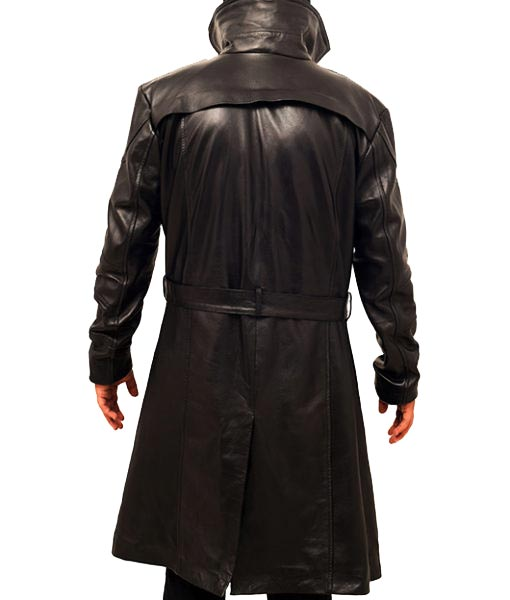 Black Runner Officer K Coat