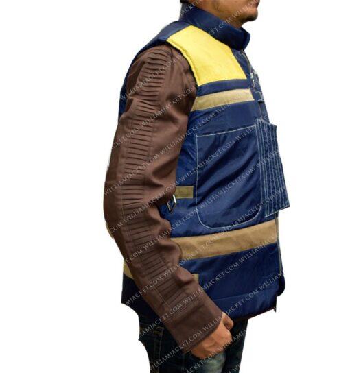 A Star Wars Story Diego Luna Blue Vest