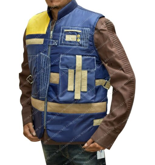 Rogue One Diego Luna Leather Vest