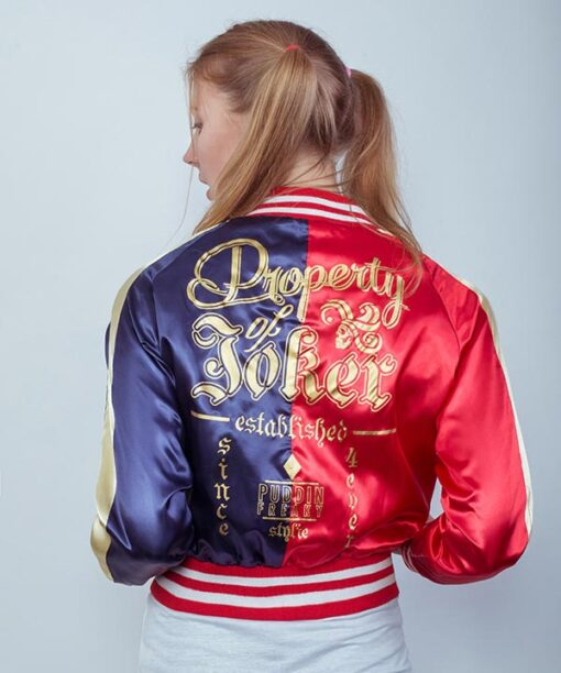 Harley Quinn Jacket William Jacket