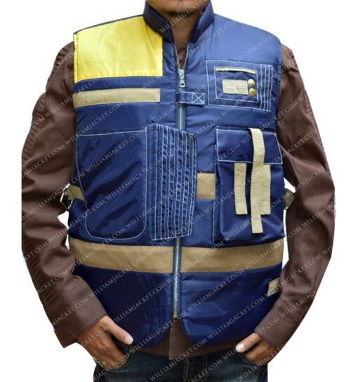 Cassian Andor Rogue One Blue Vest