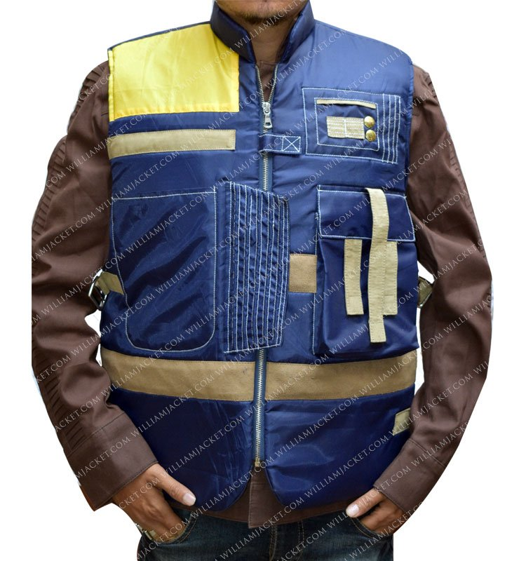 Cassian Andor Rogue One Blue Vest