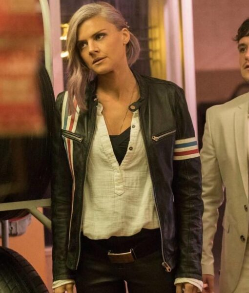 Eliza Coupe Easy Rider Leather Jacket