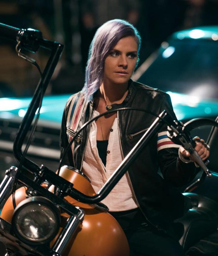 Eliza Coupe Leather Jacket
