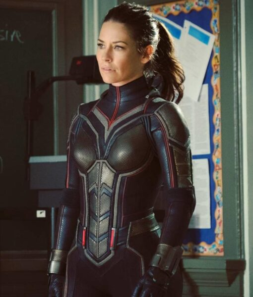 Ant Man And The Wasp Leather Jacket