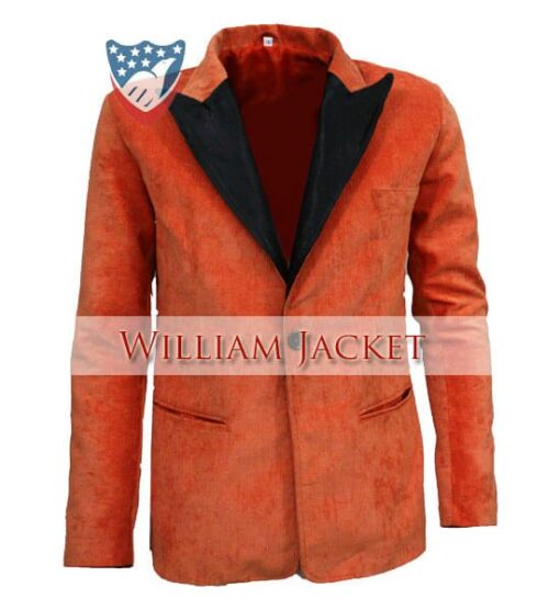 Kingsman-The-Golden-Circle-Orange-Tuxedo-William-Jacket