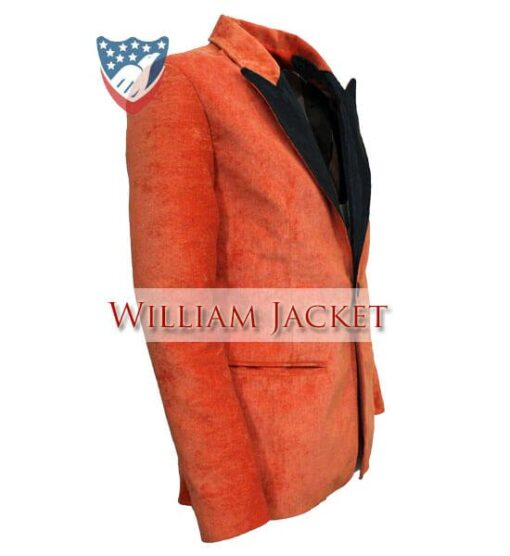 Kingsman-The-Golden-Circle-Orange-Tuxedo-William-Jacket-Side