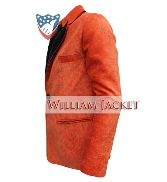 Kingsman-The-Golden-Circle-Orange-Tuxedo-William-Jacket-Side2