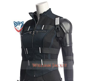 Black Widow Infinity War Vest 2018 Main William Jacket (2)