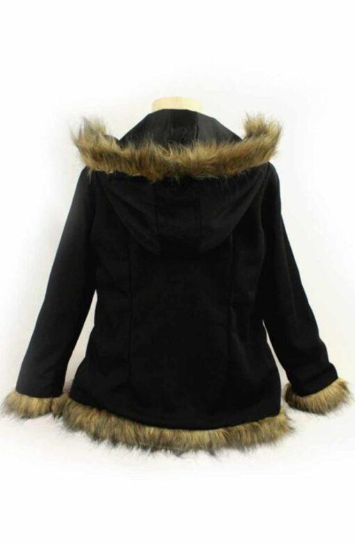 izaya orihara fur jacket