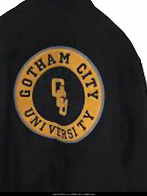 Justice League Cyborg Letterman Jacket Logo William Jacket