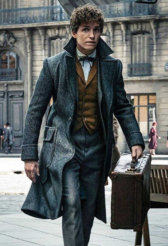Fantastic Beasts The Crimes of Grindelwald Newt Scamander Coat