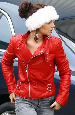 Red Cheryl Jacket