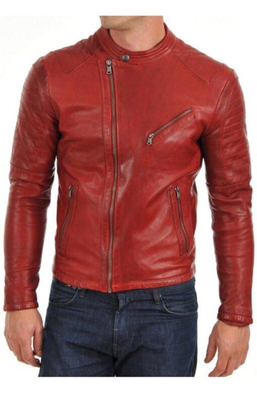 Motorcyc;le Leather Jacket