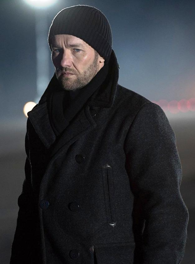 Red Sparrow Joel Edgerton Black Trench Coat