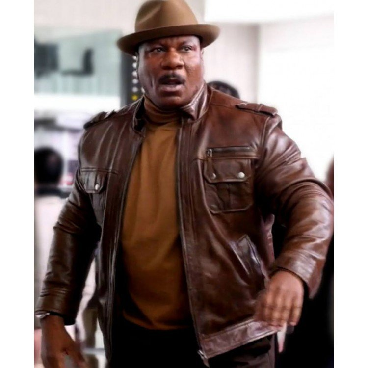 Mission Impossible Luther Stickell Leather Jacket