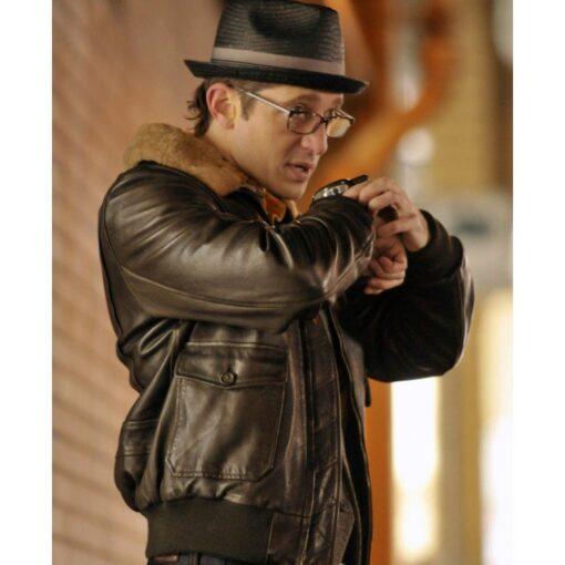 Gregory Marcel Mins Games Leather Jacket