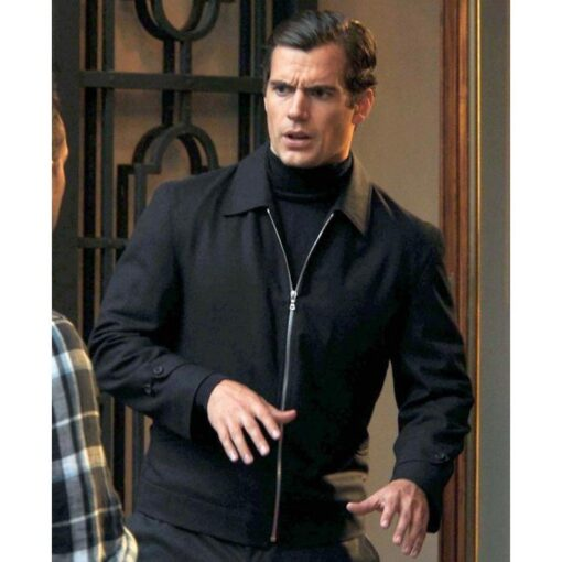 Solo The Man From Uncle Cotton Black Jacket