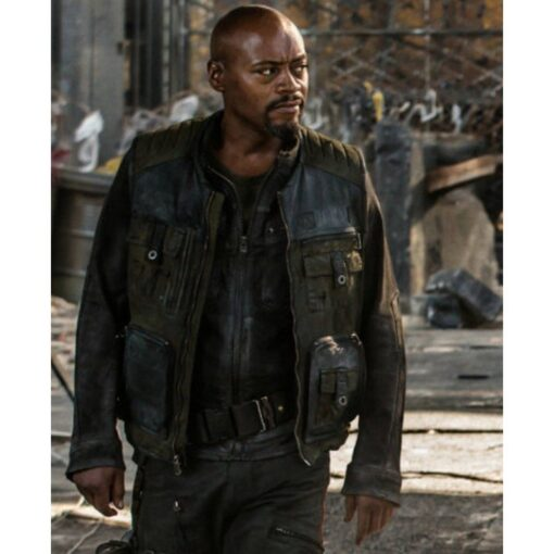 Fraser James Resident Evil Leather Jacket