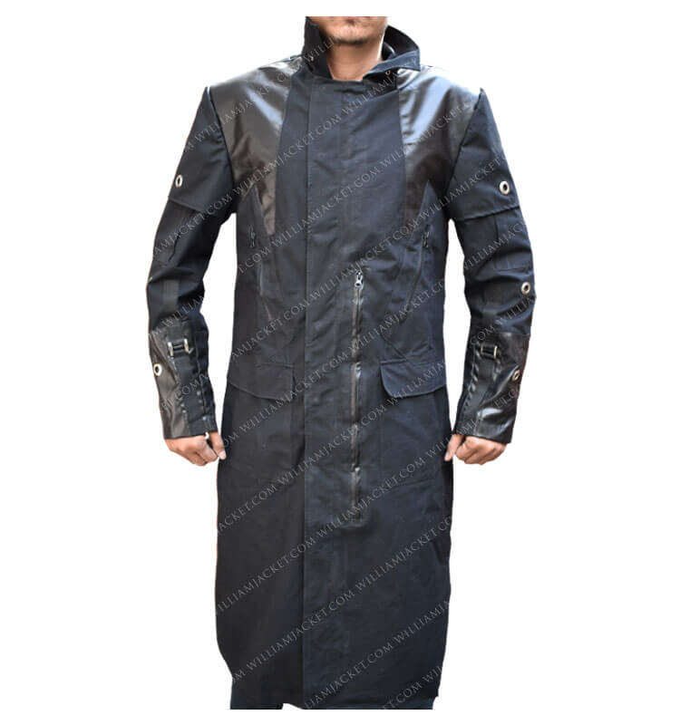 Adam Jensen Human Revolution Coat Main Front