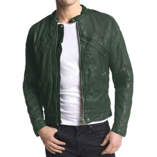 Frankie Kelly Green Jacket
