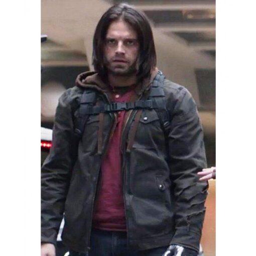 Sebastian Stan Civil War Jacket