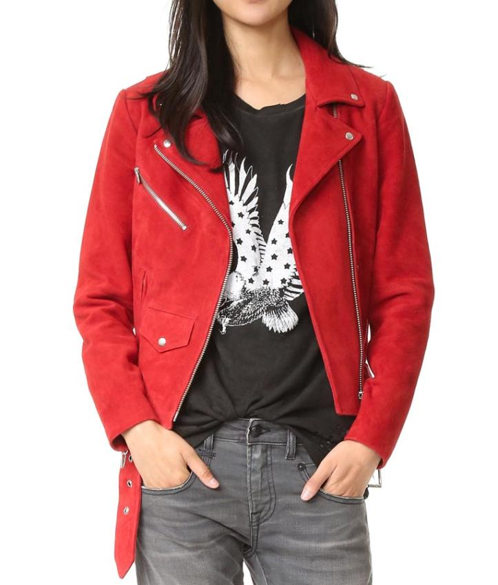 Emma Swan Biker Jacket