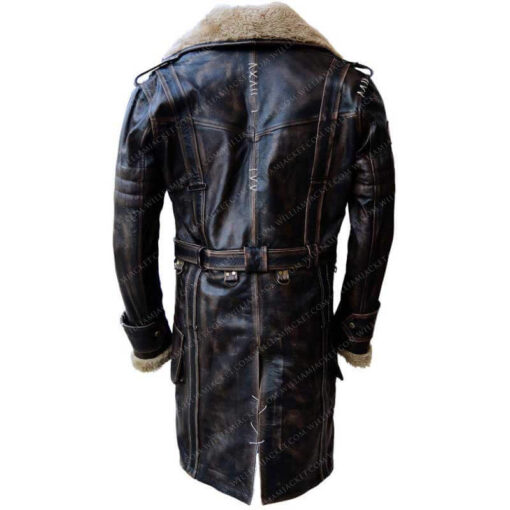 Fallout-4-Fur-Collar-Elder-Brown-Long-Leather-Battle-Jacket-Back-William-Jacket
