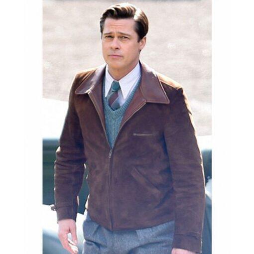 Brad Pitt Allied Jacket