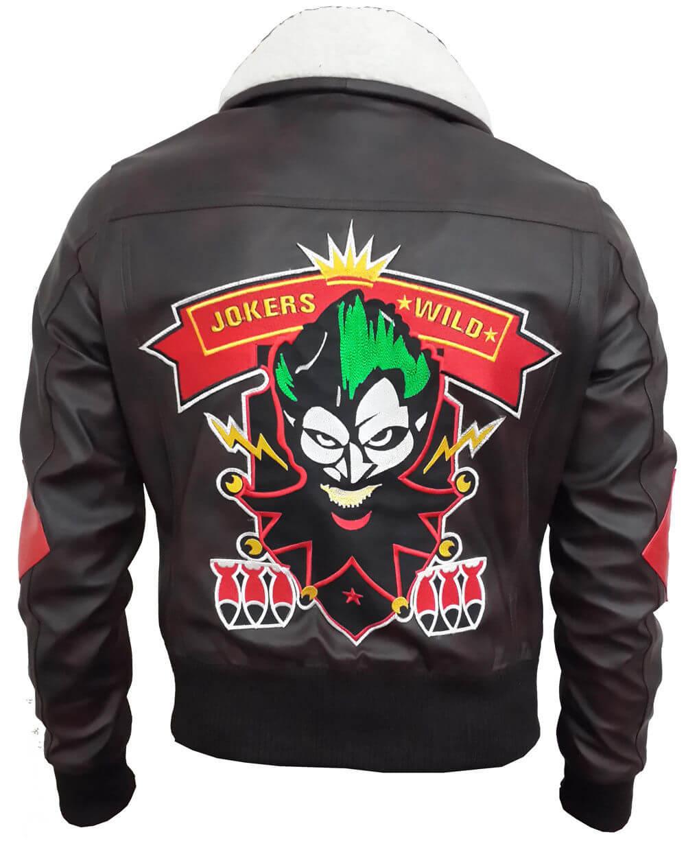 The Harley Quinn Bombshell Leather Jacket | William Jacket