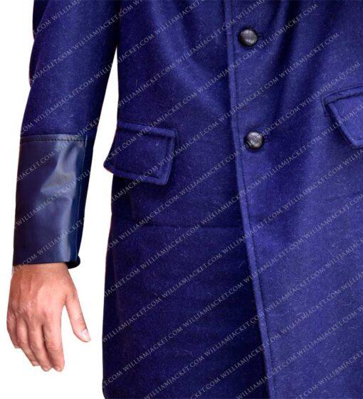 Gotham-Bruce-Wayne-Blue-Trench-Coat-William-Jacket-Sleeve
