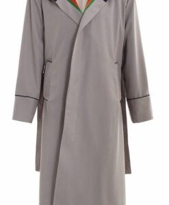 Jodie Whittaker Doctor Who Grey Trench Coat
